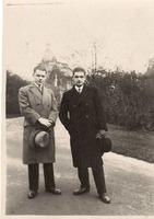 S bratrem nakladatelem Čeňkem Beranem.